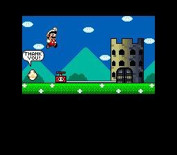 Super Mario World Castle